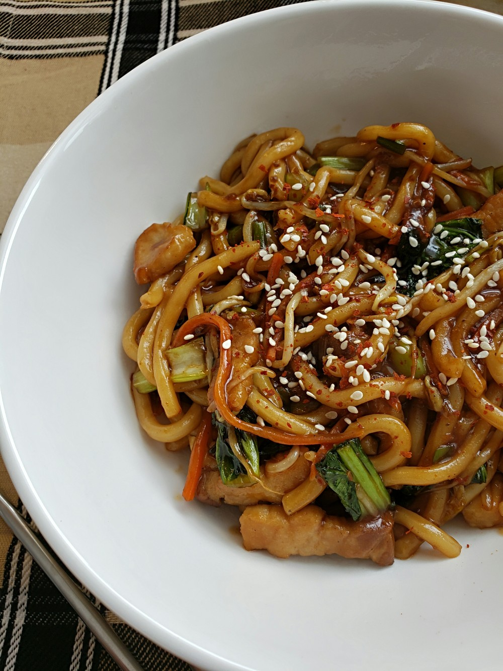 Pork Udon Stir Fry 2