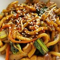 Pork Udon Stir Fry