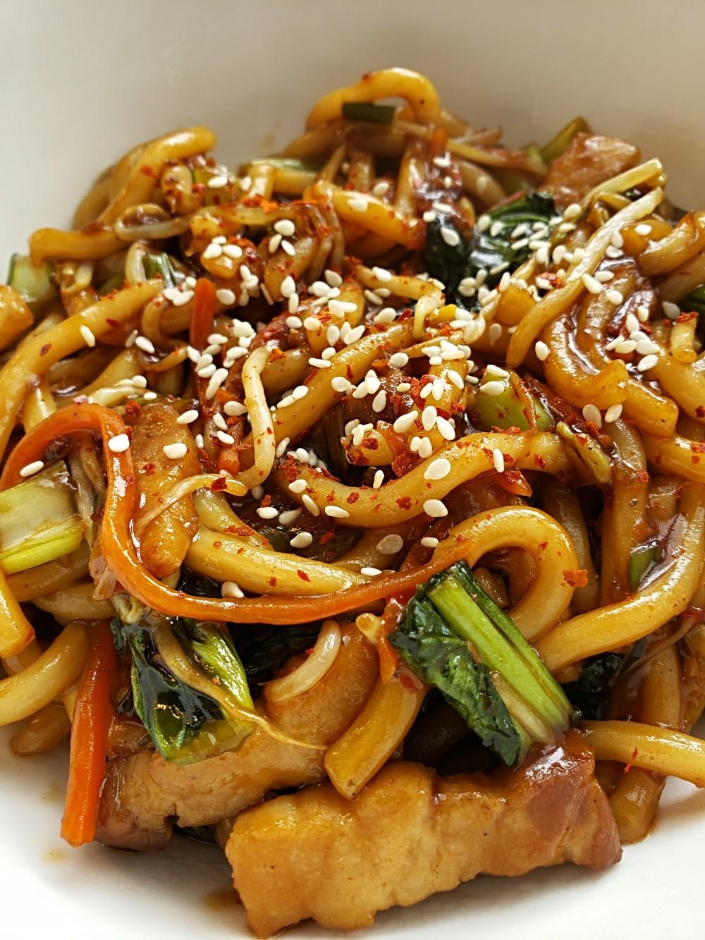 Pork Udon Stir Fry 3
