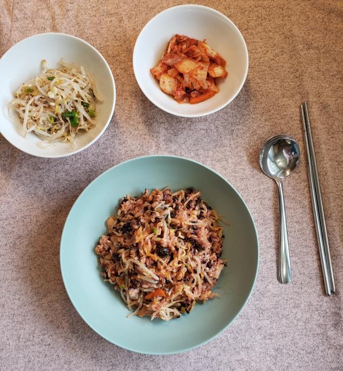 Fork & Fantasy - Banchan Rice 4