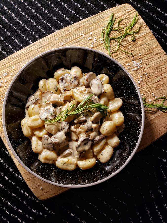 Creamy Mushroom Gnocchi 1