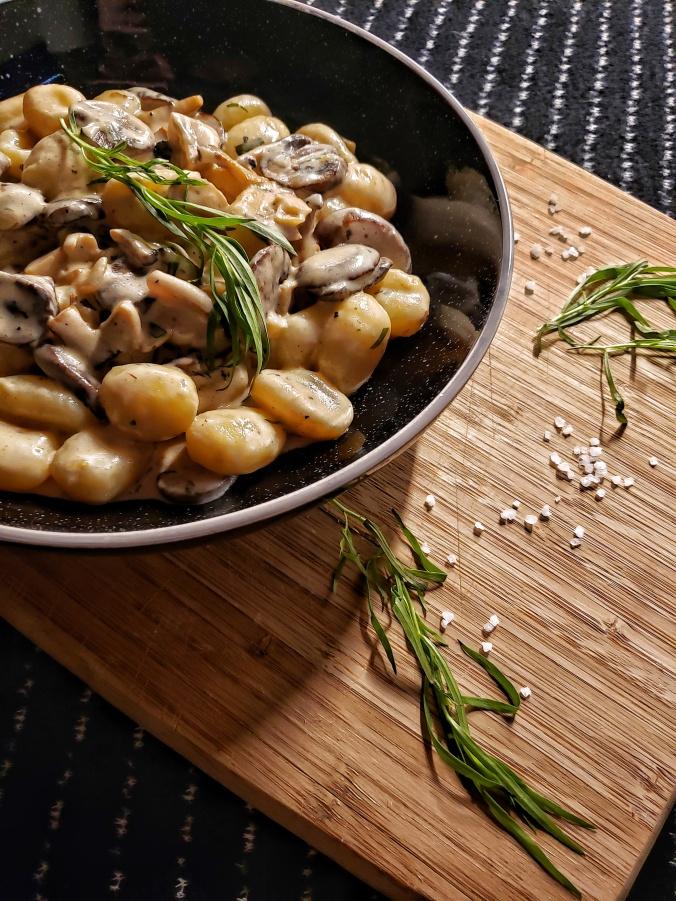 Creamy Mushroom Gnocchi 3