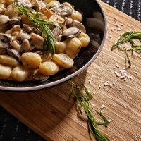 Creamy Mushroom Gnocchi